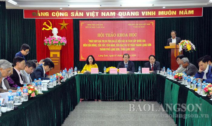 Hội thảo phát triển du lịch thành phố Lạng Sơn