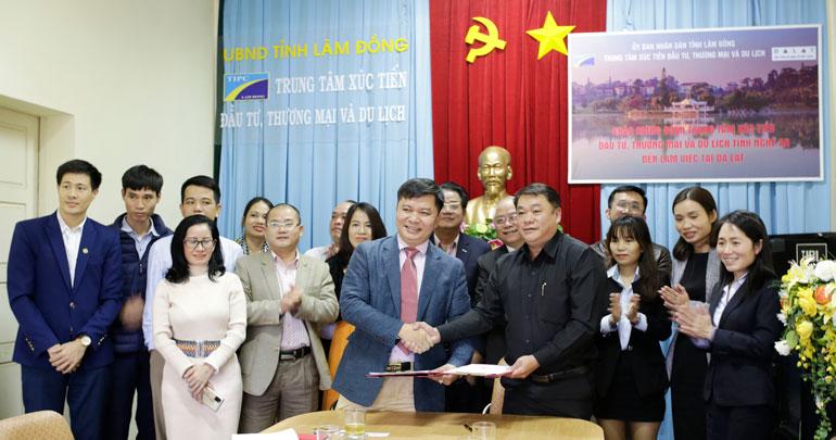 Đoàn công tác tỉnh Nghệ An xúc tiến thương mại, du lịch tại Lâm Đồng