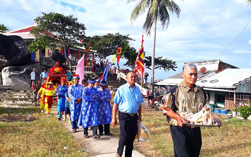 Ngư dân Kiên Hải tổ chức chức Lễ hội Nghinh Ông 2020