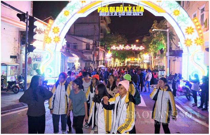 Phố đi bộ Kỳ Lừa (Lạng Sơn): Thành công bước đầu và những kỳ vọng