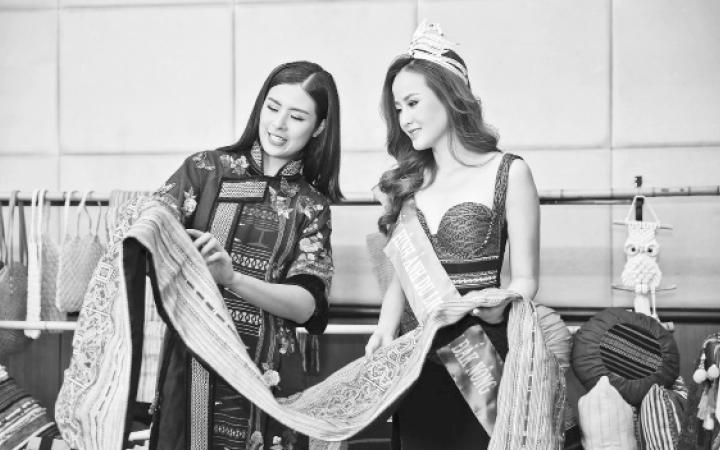 Quảng bá thổ cẩm, tinh hoa văn hóa Việt Nam
