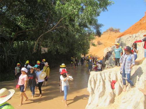 Bình Thuận: Quản lý, bảo vệ thắng cảnh Suối Tiên