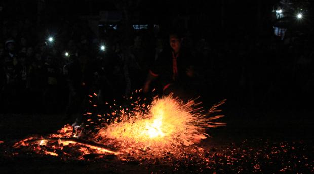 Hà Giang: Lễ hội Nhảy lửa dân tộc Pà Thẻn năm 2020