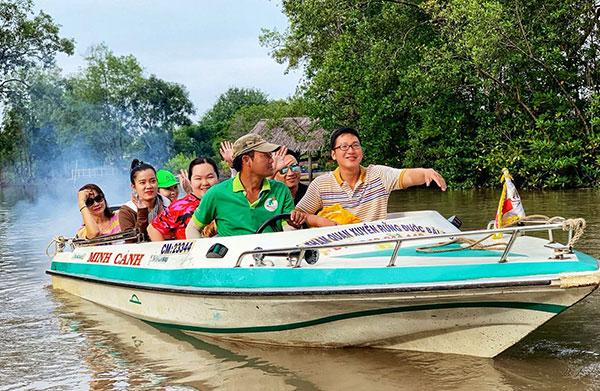 Cà Mau đẩy mạnh phát triển du lịch cộng đồng