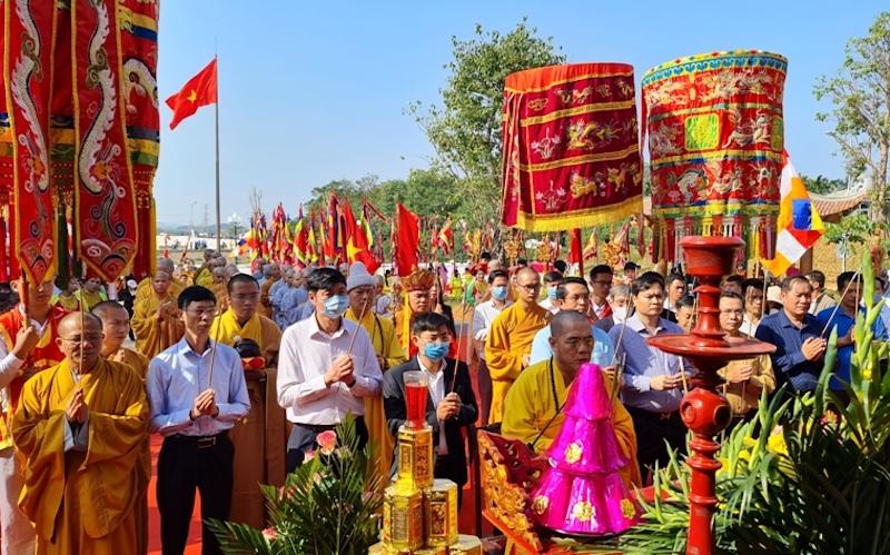 Quảng Ninh: Khánh thành chùa Quỳnh Lâm - Di tích quốc gia đặc biệt nhà Trần tại Đông Triều