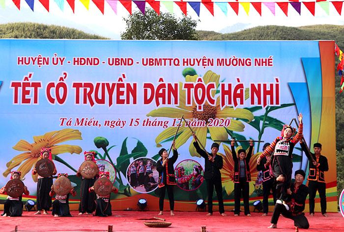 Nhiều hoạt động tại Lễ hội văn hóa Tết cổ truyền dân tộc Hà Nhì, huyện Mường Nhé, Điện Biên