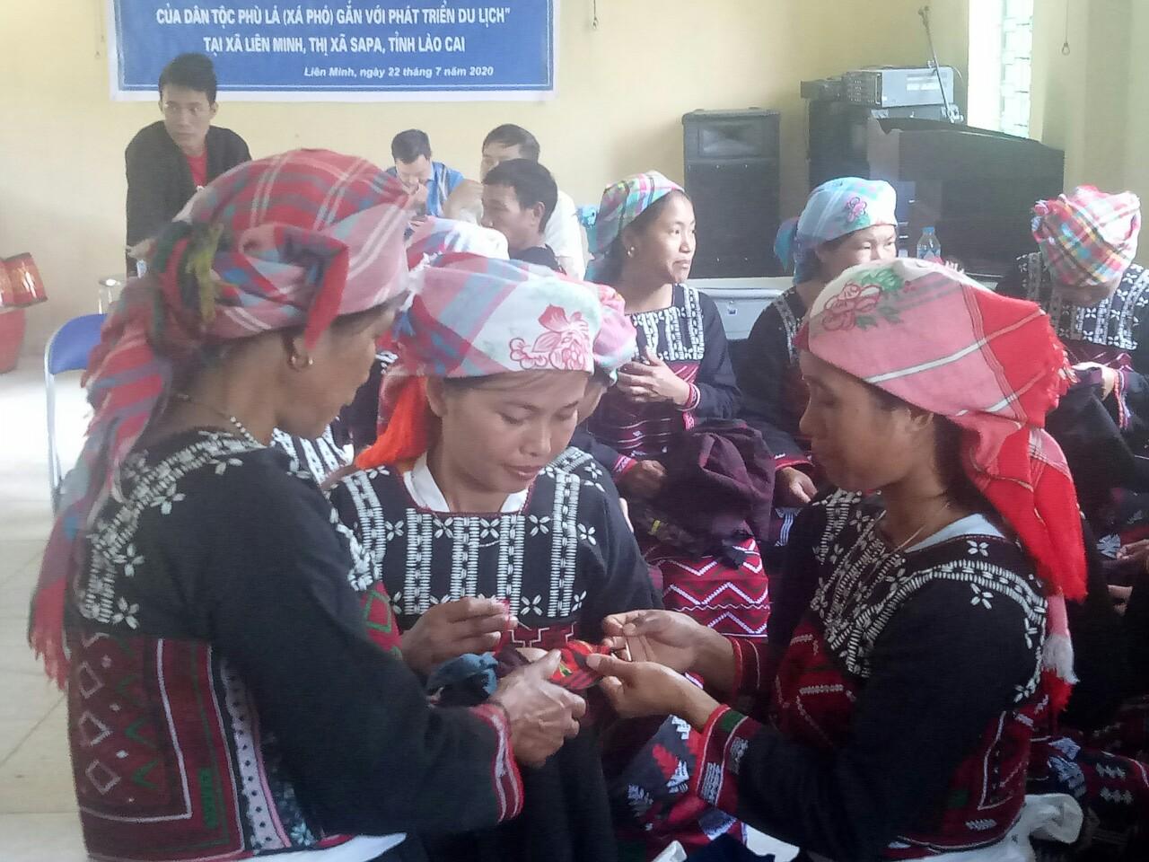 Lào Cai: Gắn dạy nghề truyền thống với phát triển du lịch