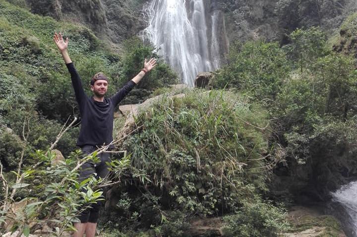 Thác Nặm Me điểm du lịch kỳ thú ở Tuyên Quang