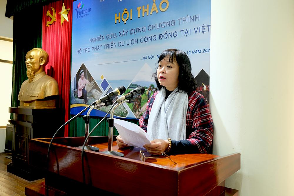 Tổng cục Du lịch nghiên cứu, xây dựng chương trình hỗ trợ phát triển du lịch cộng đồng bền vững tại Việt Nam