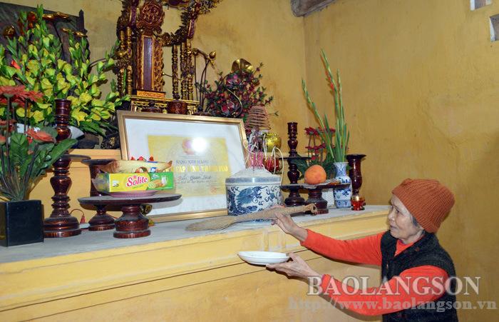 Phát huy giá trị đền Quan Lãnh (Lạng Sơn), góp phần giáo dục lịch sử truyền thống địa phương