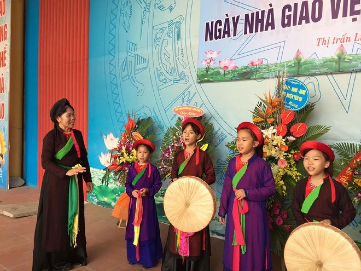 Bắc Ninh đẩy mạnh đưa Quan họ vào trường học để bảo tồn văn hóa