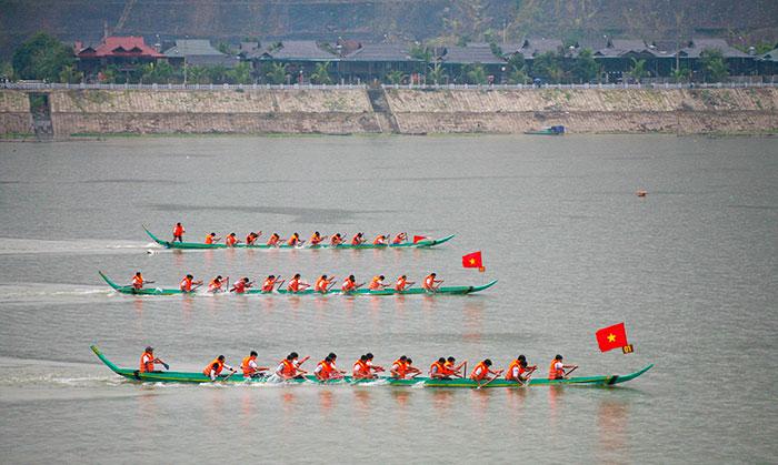 Điện Biên: Sẵn sàng cho Lễ hội Ðua thuyền đuôi én