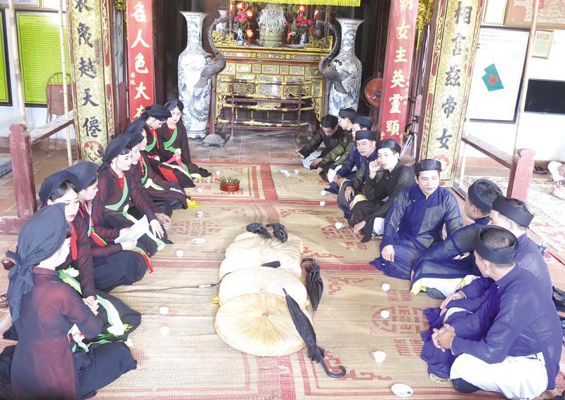 Hát Quan họ thờ ở Bắc Ninh