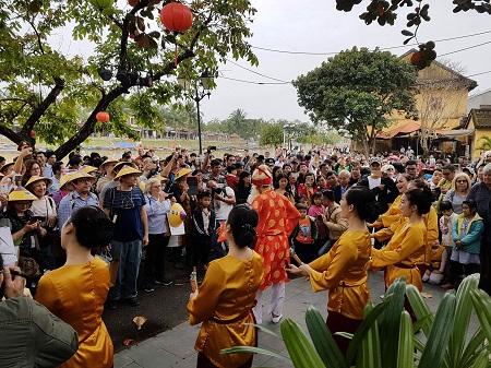 Hội An: Nhiều hoạt động văn hóa, giải trí chào năm mới