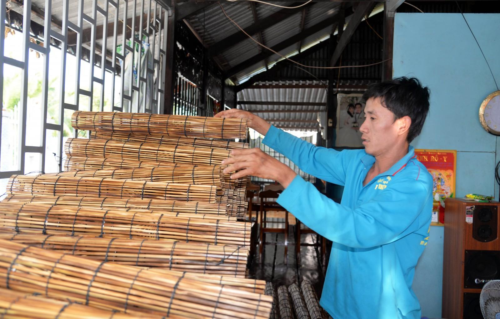 Làng nghề lọp lươn Cần Đăng (An Giang)