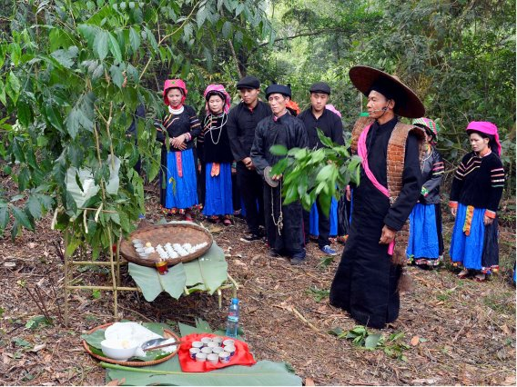 Độc đáo lễ cúng thần rừng của đồng bào Pu Péo (Hà Giang)