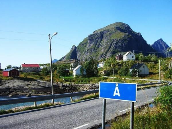 Ngôi làng có tên ngắn nhất hành tinh, chỉ gồm 1 ký tự