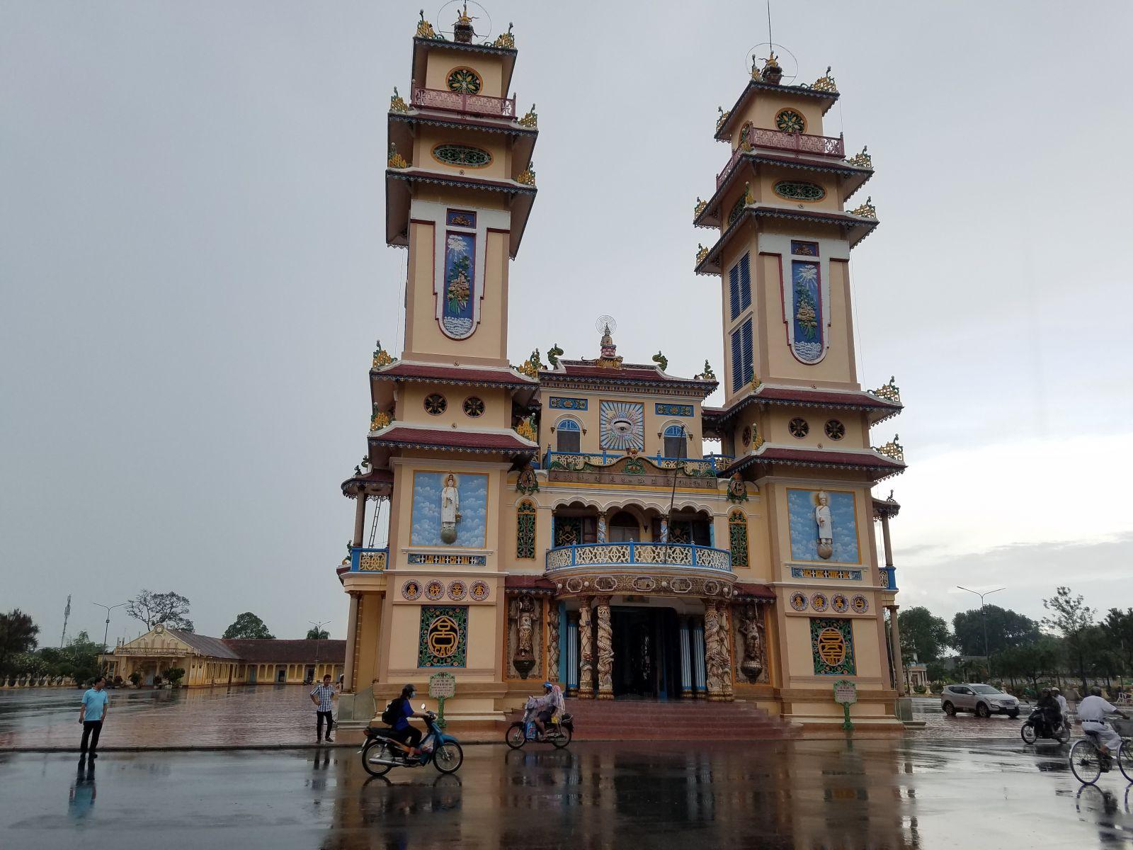 Nét đẹp kiến trúc Tòa thánh Tây Ninh