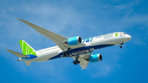 Từ 15/2, Bamboo Airways tăng tần suất bay Hà Nội – Tp. Hồ Chí Minh