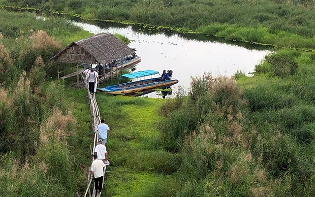 U Minh Thượng (Kiên Giang), miền đất hấp dẫn