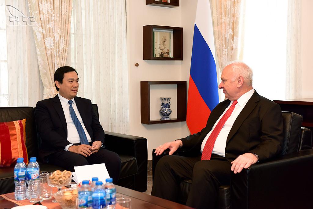 Đại sứ Nga Konstantin Vnukov: An toàn là một yếu tố quan trọng thúc đẩy du khách Nga chọn Việt Nam
