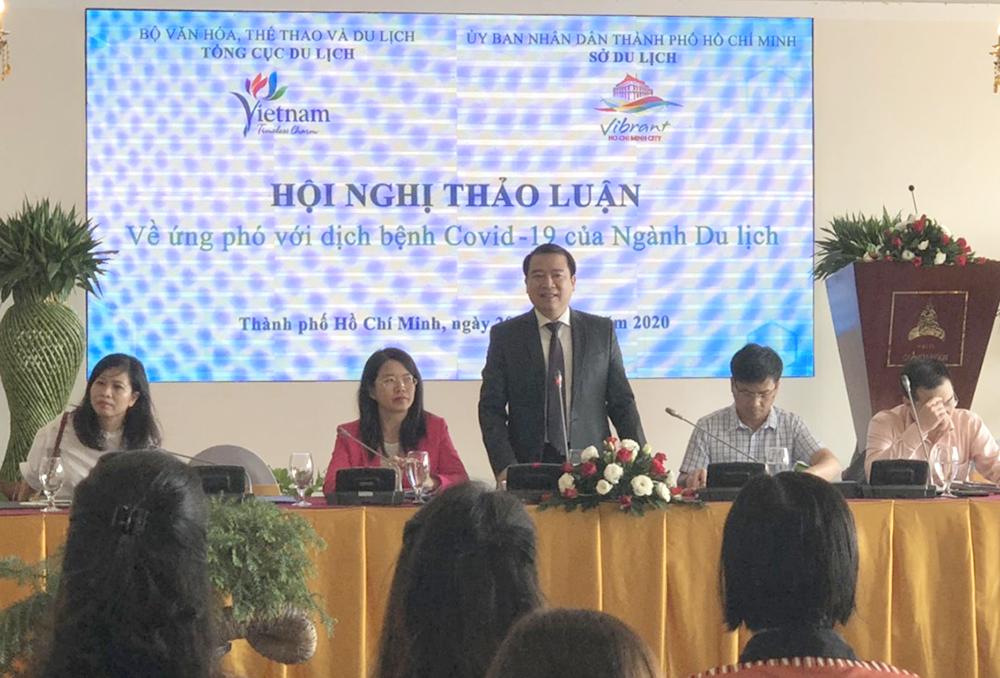 Phó Tổng cục trưởng Hà Văn Siêu chỉ đạo TPHCM đẩy mạnh truyền thông về du lịch an toàn để phục hồi du lịch