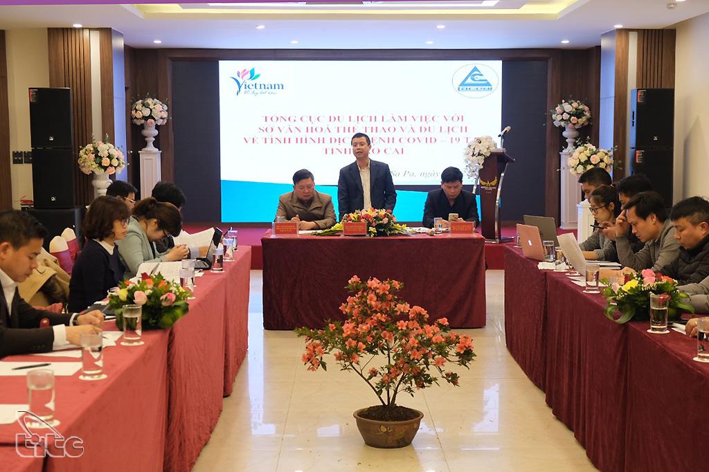 Phó Tổng cục trưởng Nguyễn Lê Phúc đề nghị Lào Cai tiếp tục truyền thông về du lịch an toàn và xây dựng chương trình kích cầu du lịch
