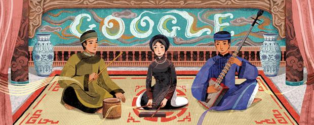 Google tôn vinh nghệ thuật di sản thế giới Ca trù của Việt Nam