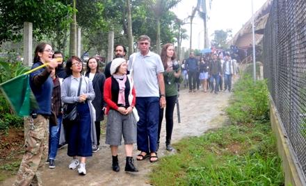 Cơ sở bảo tồn gấu Ninh Bình được công nhận là điểm du lịch