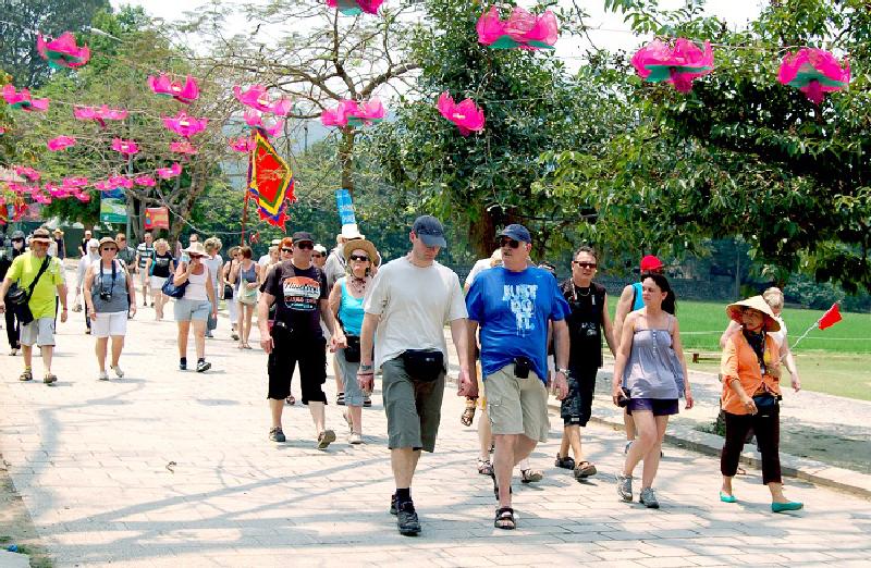 Việt Nam xếp thứ 7 trong các quốc gia có tốc độ tăng trưởng khách quốc tế cao nhất thế giới