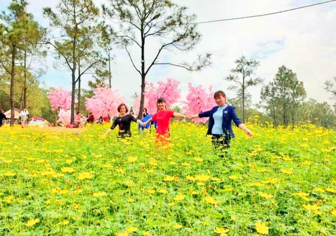 Du xuân, ngắm muôn sắc hoa ở Yên Trung