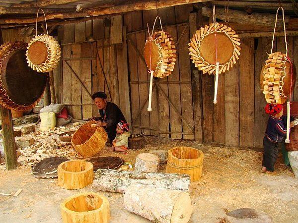 Nghề làm trống của người Dao đỏ Sa Pa được vinh danh là Di sản văn hóa phi vật thể quốc gia