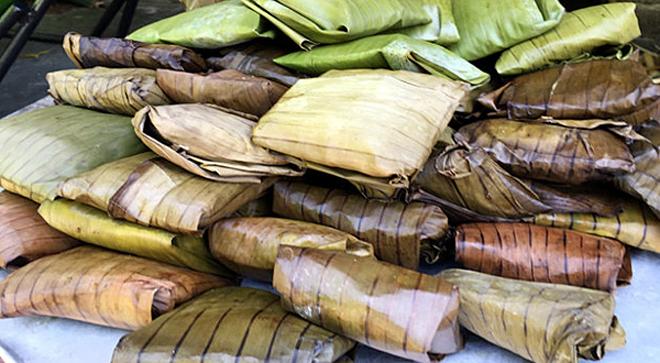 Bánh củ chuối: Món ngon dân dã của đồng bào dân tộc Tày