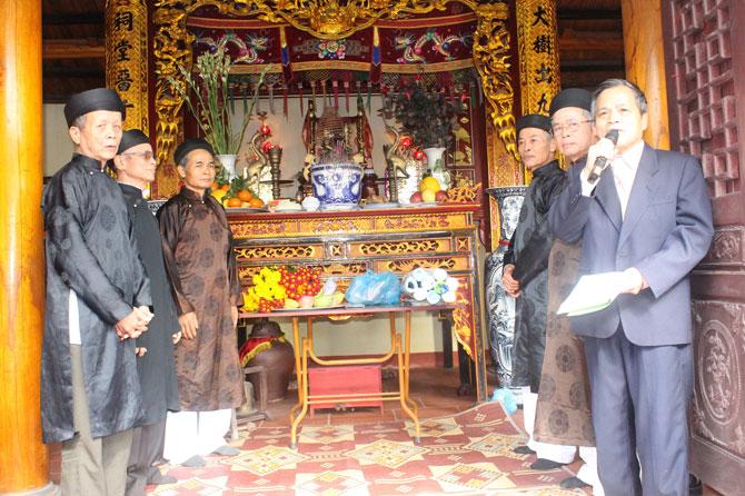 Chạp họ - nét văn hóa truyền thống của người Việt