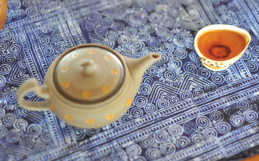 Lạ lẫm trà lam