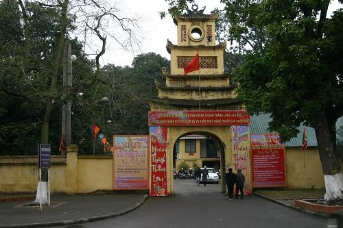 Khu di tích trung tâm Hoàng thành Thăng Long - Hà Nội - Điểm du lịch hấp dẫn
