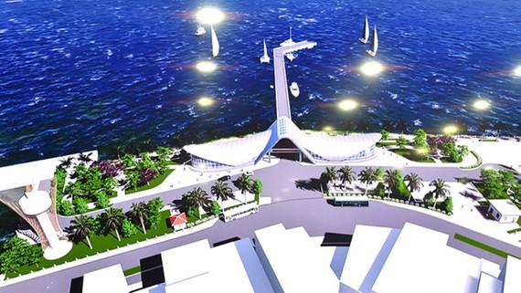 158 tỷ đồng xây dựng Cảng tàu khách Côn Đảo