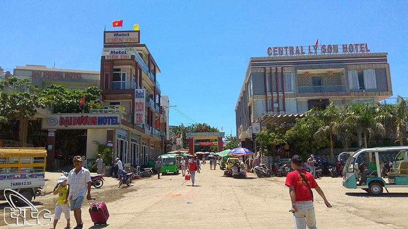 Đảo Lý Sơn tạm dừng đón khách du lịch trong và ngoài nước