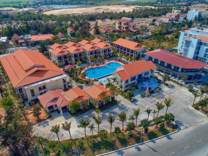 Manli Resort tự nguyện là cơ sở lưu trú cho những người cách ly vì Covid-19 tại Quảng Bình.