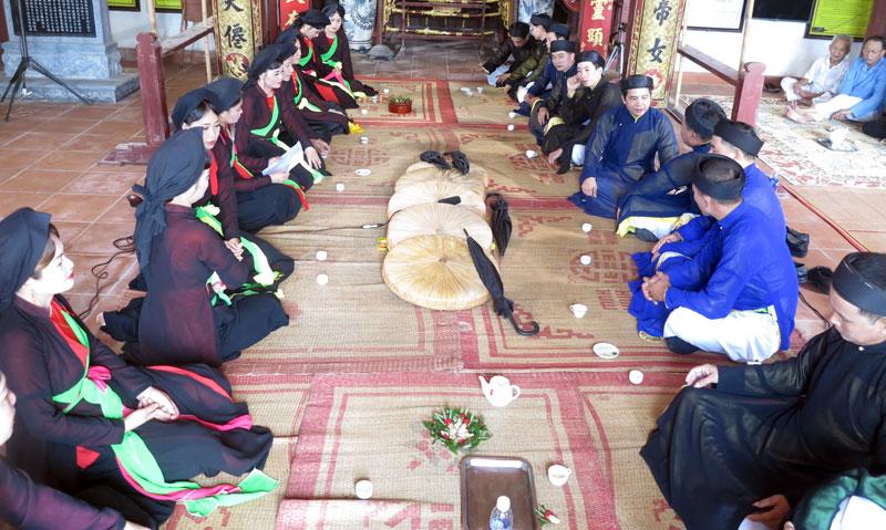 Đến Bắc Ninh ghé thăm làng Quan họ cổ Hoài Thị
