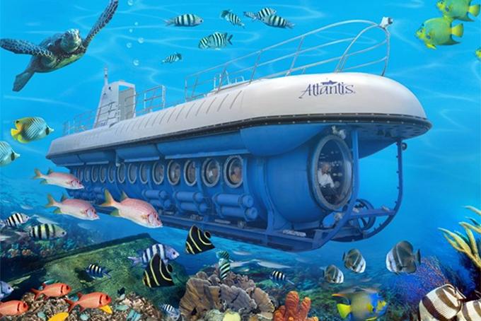 Đề xuất thí điểm tàu ngầm, tàu lặn tham quan vịnh Nha Trang