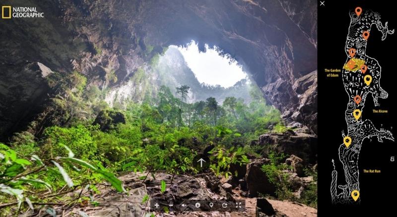 Hang Sơn Đoòng lọt tốp 10 tour du lịch ảo mùa dịch Covid-19