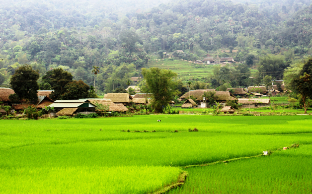 Ngẩn ngơ vẻ đẹp thôn Tha (Hà Giang)