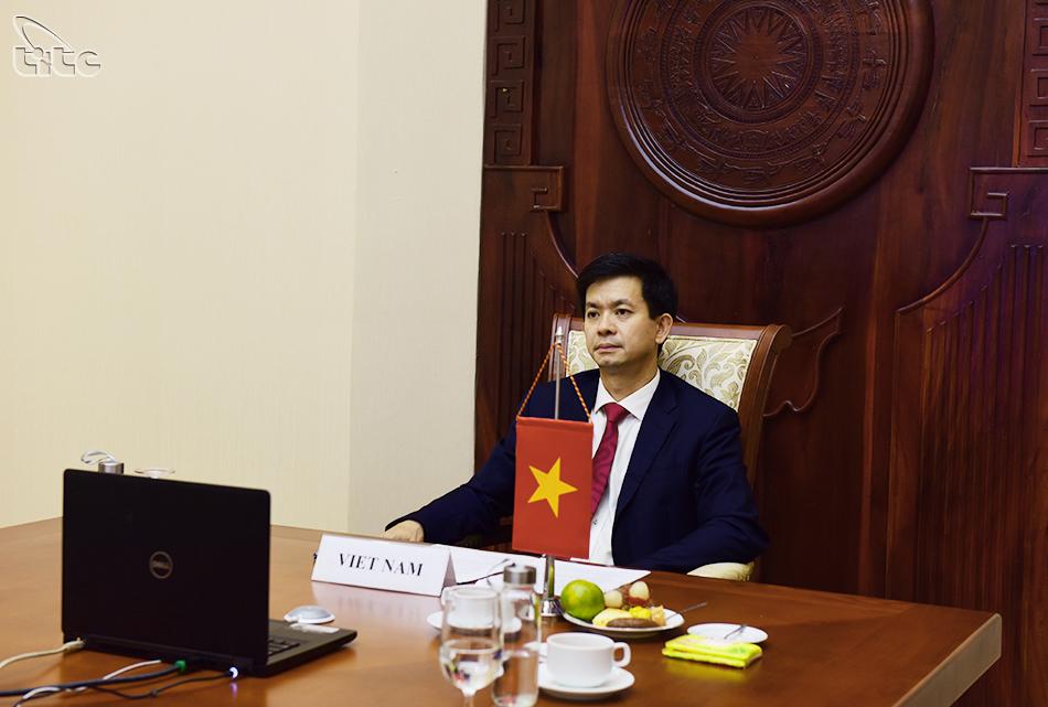 Thứ trưởng Lê Quang Tùng tham dự Hội nghị trực tuyến Bộ trưởng Du lịch G20