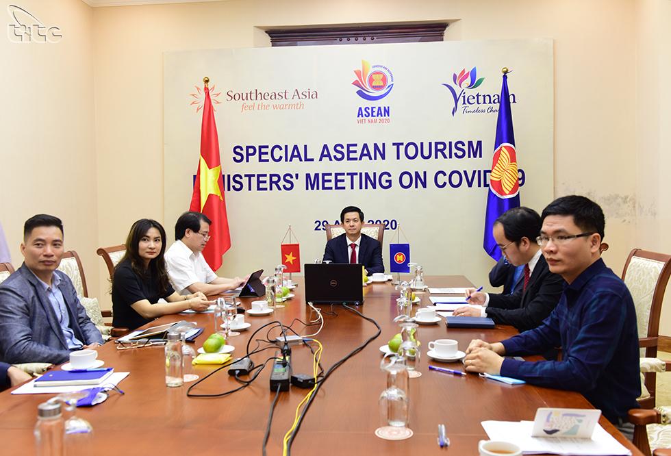 Phát triển du lịch ASEAN bền vững và toàn diện sau khủng hoảng của đại dịch COVID-19