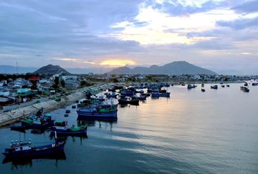Ninh Thuận: Đầm Nại - Chợ Nại bức tranh thiên nhiên bình yên hữu tình