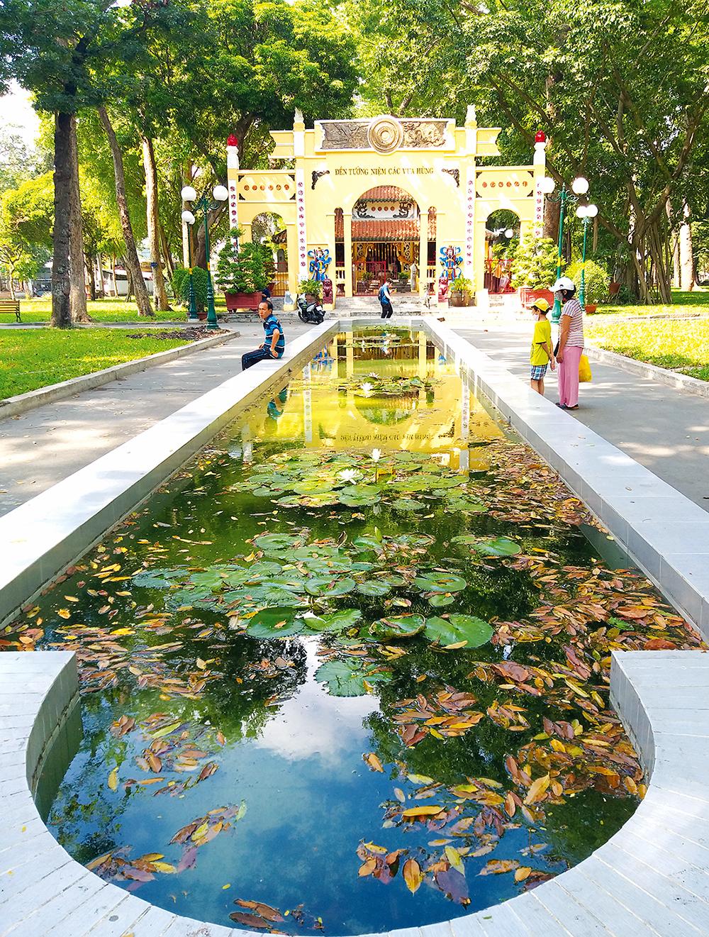 Di tích thờ Hùng Vương ở TP Hồ Chí Minh