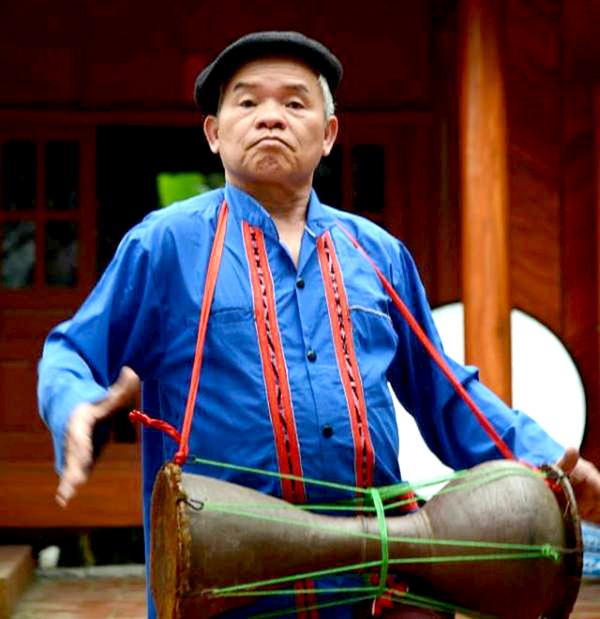 Trống sành nhạc cụ độc đáo của người Cao Lan