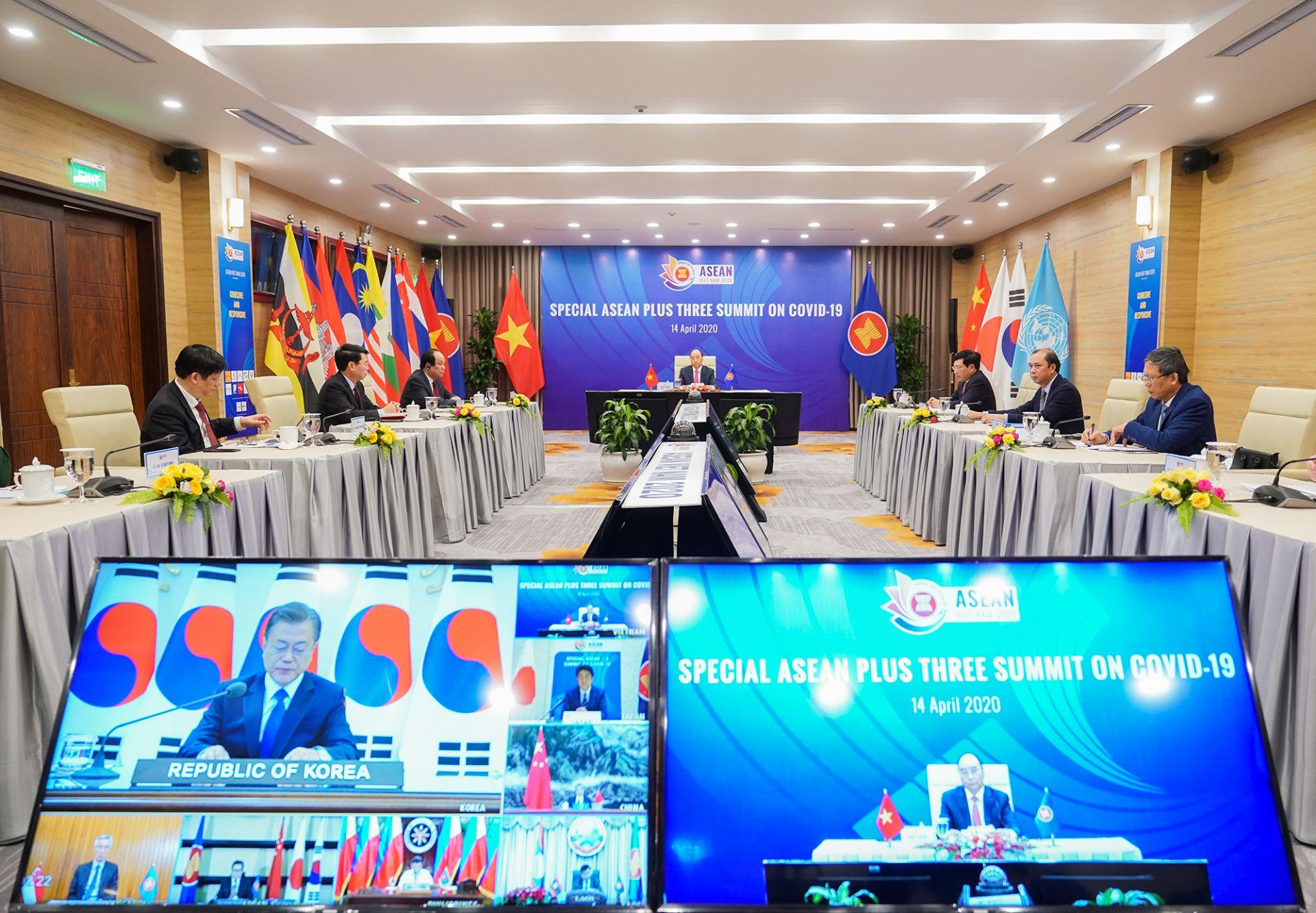 Tuyên bố Hội nghị Cấp cao đặc biệt ASEAN về ứng phó dịch bệnh COVID-19