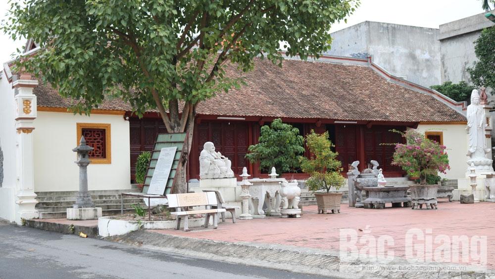 Giá trị văn hóa độc đáo chùa làng Vẽ - Bắc Giang